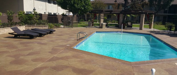 pool deck resurface