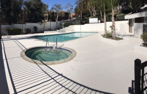pool deck resurface