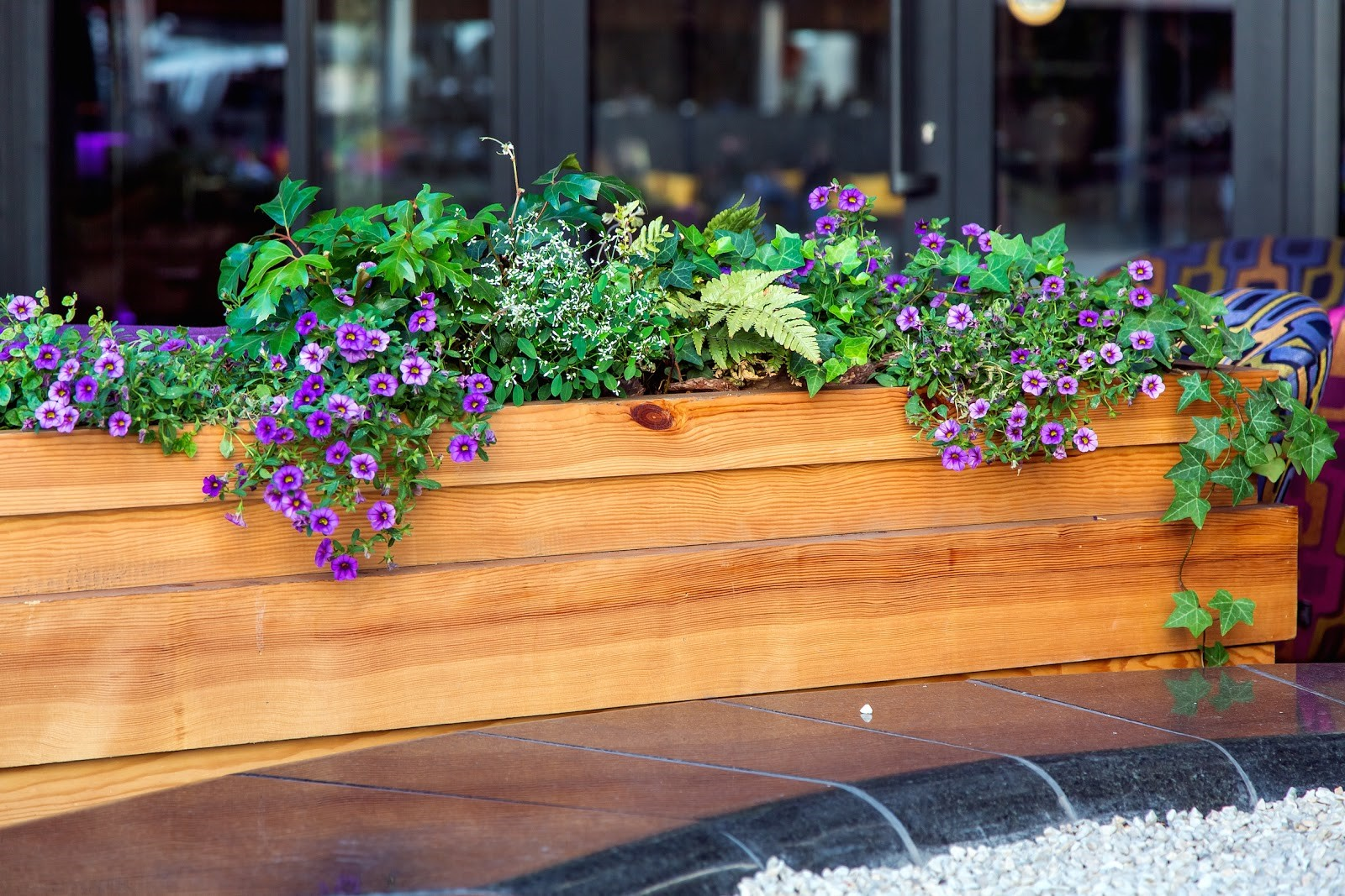 outdoor planter boxes