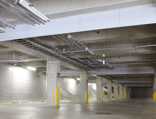 Water Dripping from the Ceiling of Your Parking Structure — Try This.